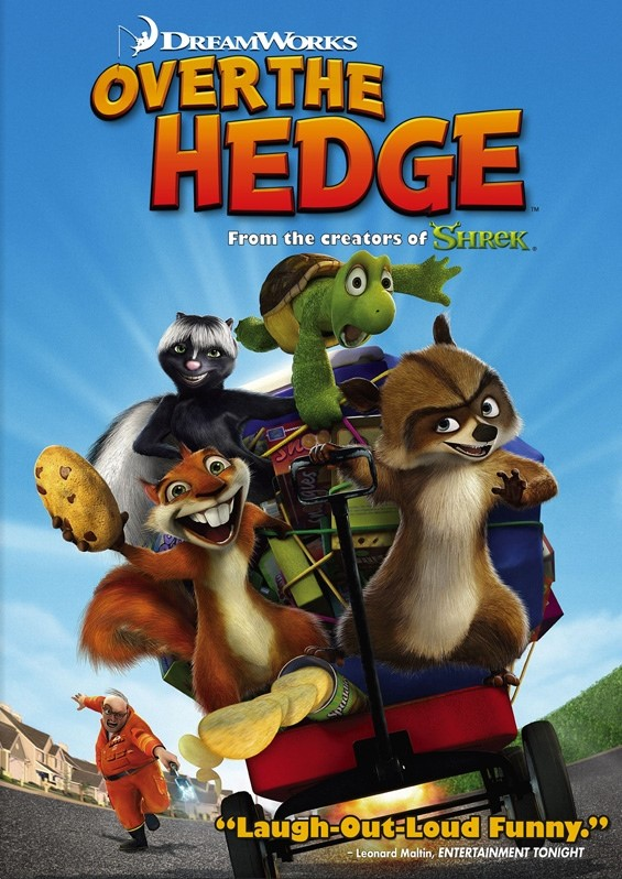Over The Hedge: Movie on the Big Lawn @ Jones Pavillion at Riverside Park | Beloit | Wisconsin | United States
